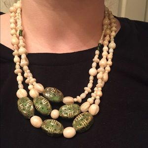 Vintage multi layered necklace